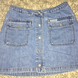 jean mini skirt from Guess